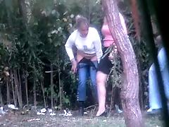 Peeing chickie and her gf caught on cam