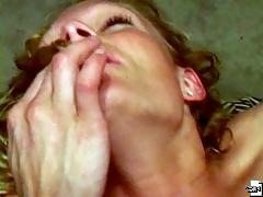Two hotties film each other?s faces on amateur cam while having orgasm.