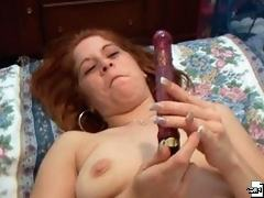 Look at this amateur actress getting hard erect cock between her big juicy tits.
