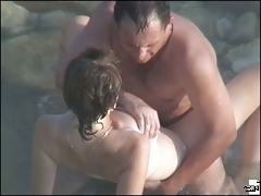 Beach and water sex experiments of the fired-up lovers